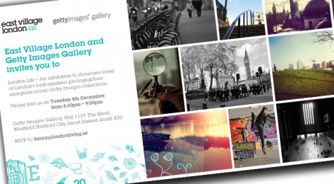 Getty Photo Exhibit features a shot of London 2012 by Terence Chisholm of the Tate Modern Art Gallery